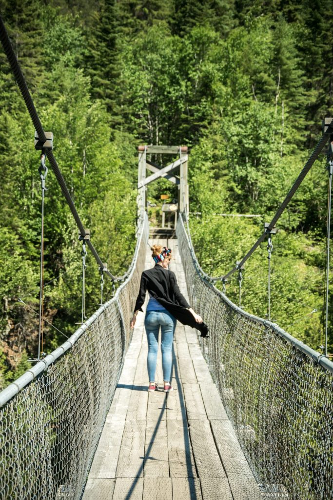 pont suspendu aiguebelle