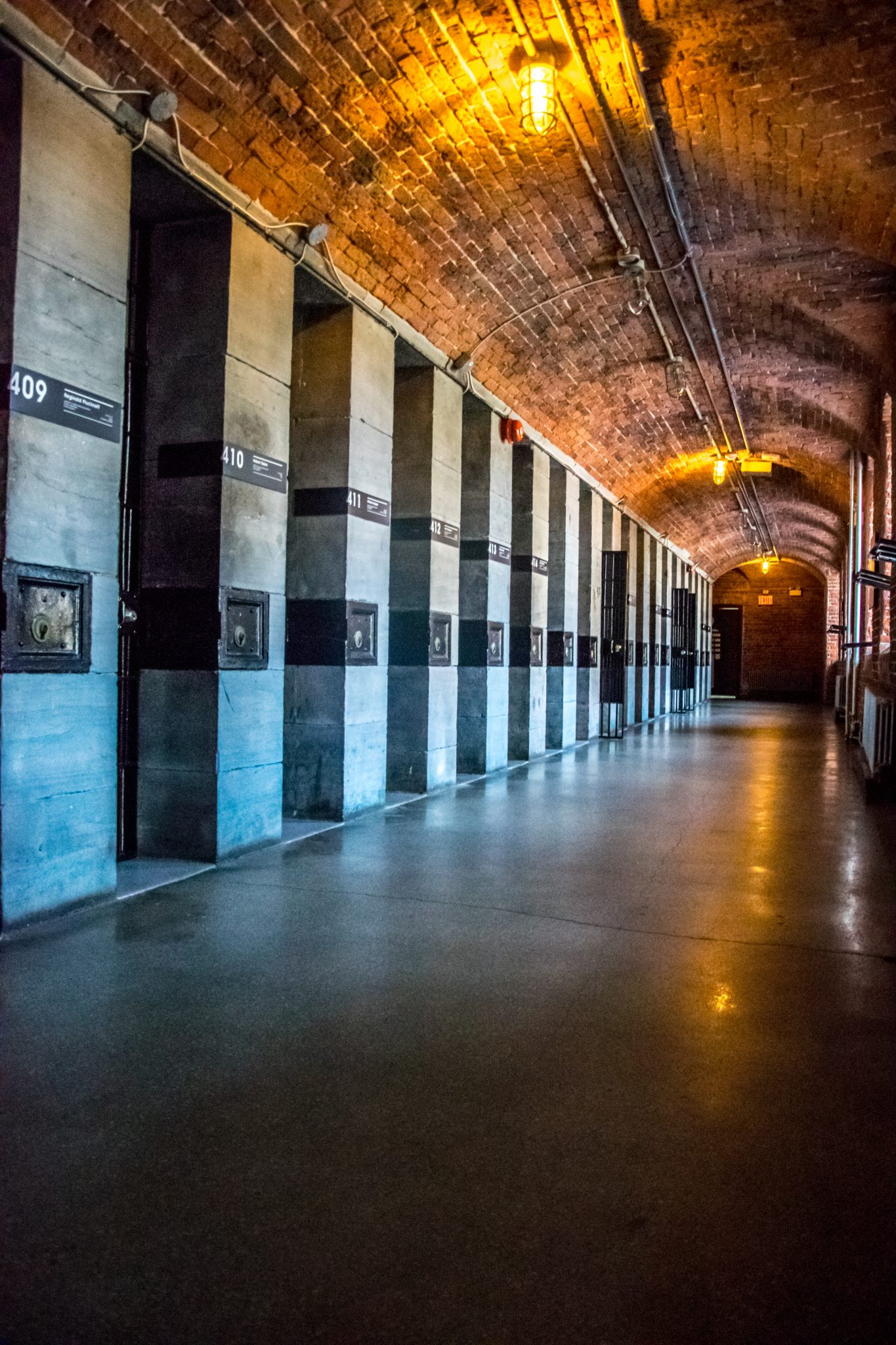 couloir brique