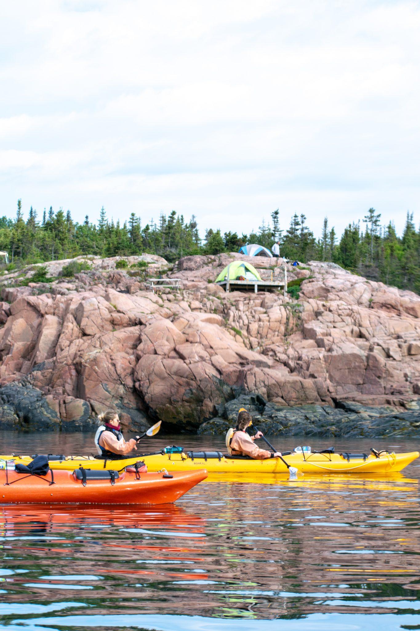 kayak tente