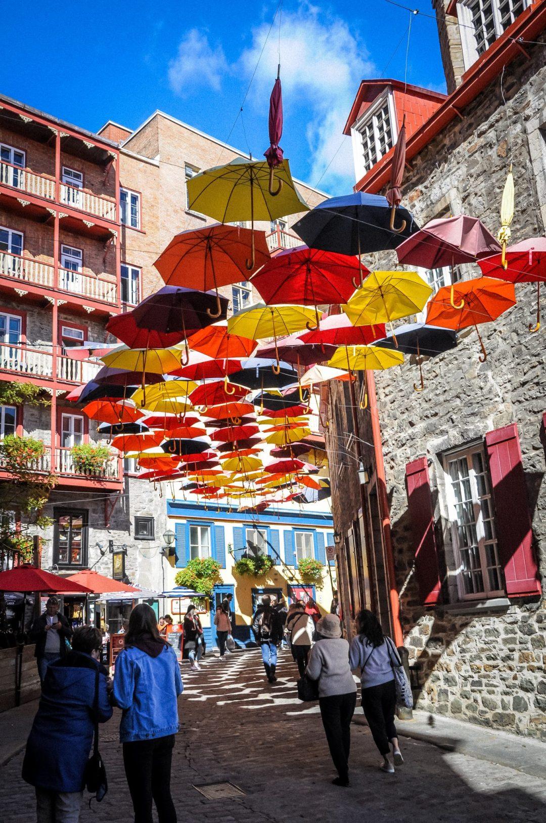 parapluie rue