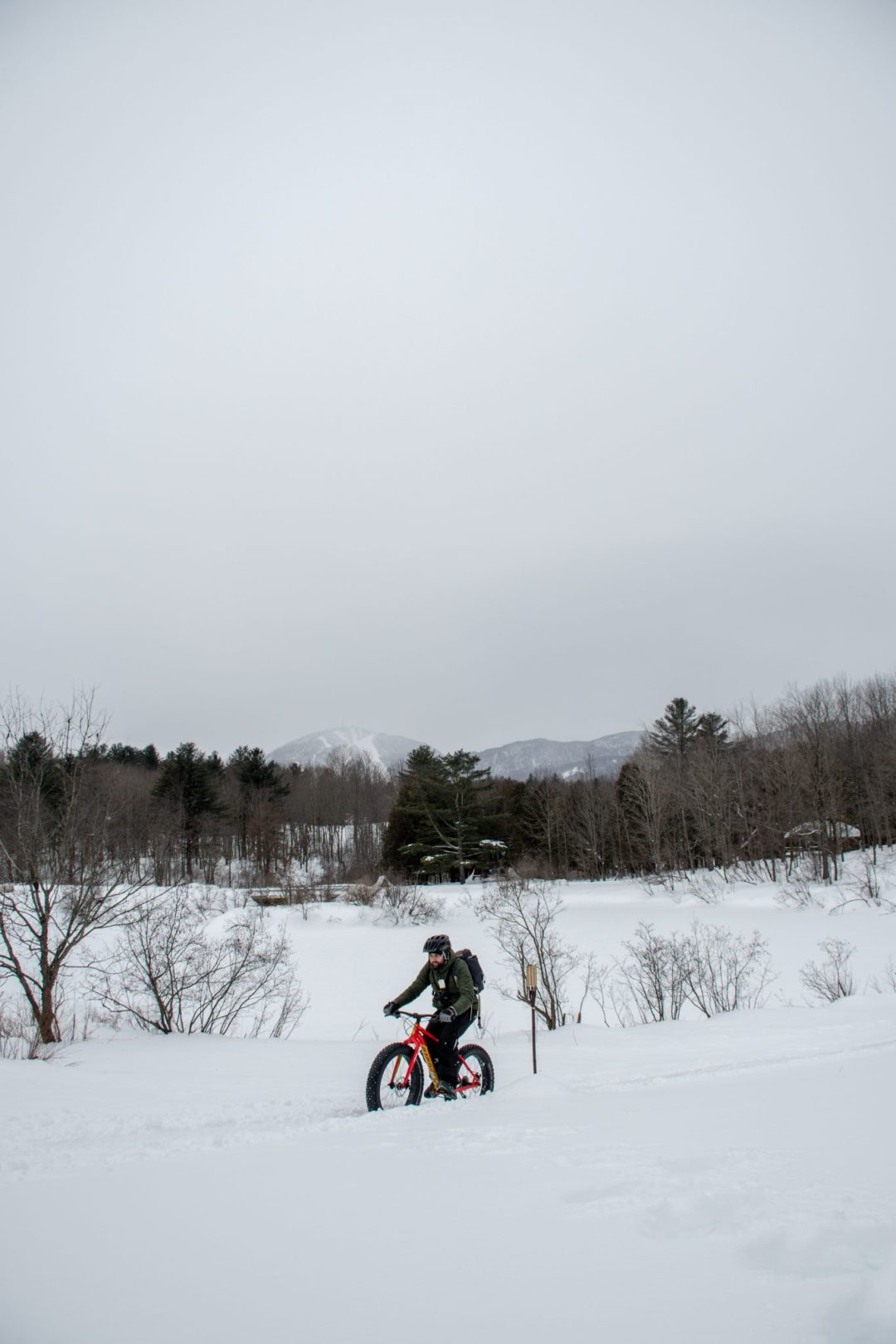 fatbike mont orford magog hiver