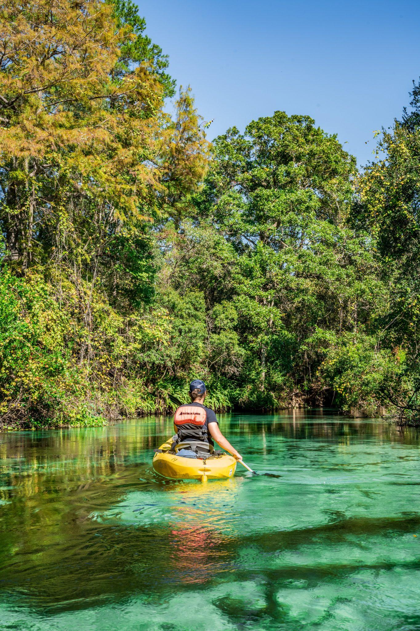 weeki wachee kayak