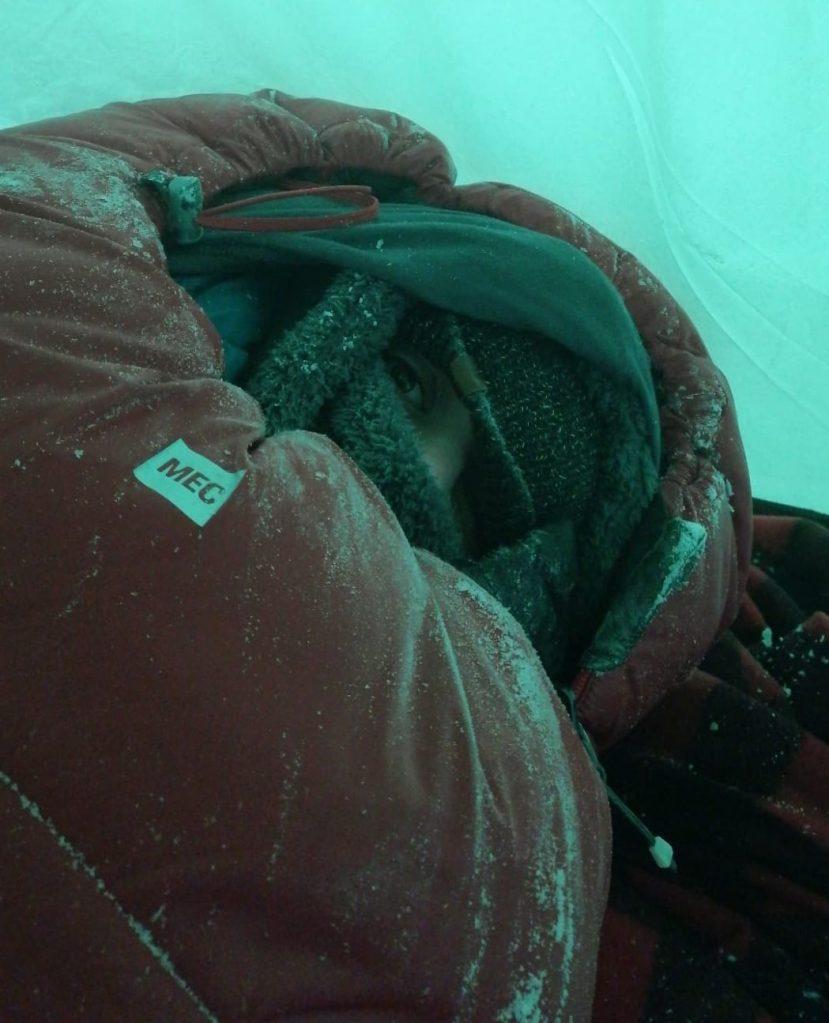 sleeping bag mec
