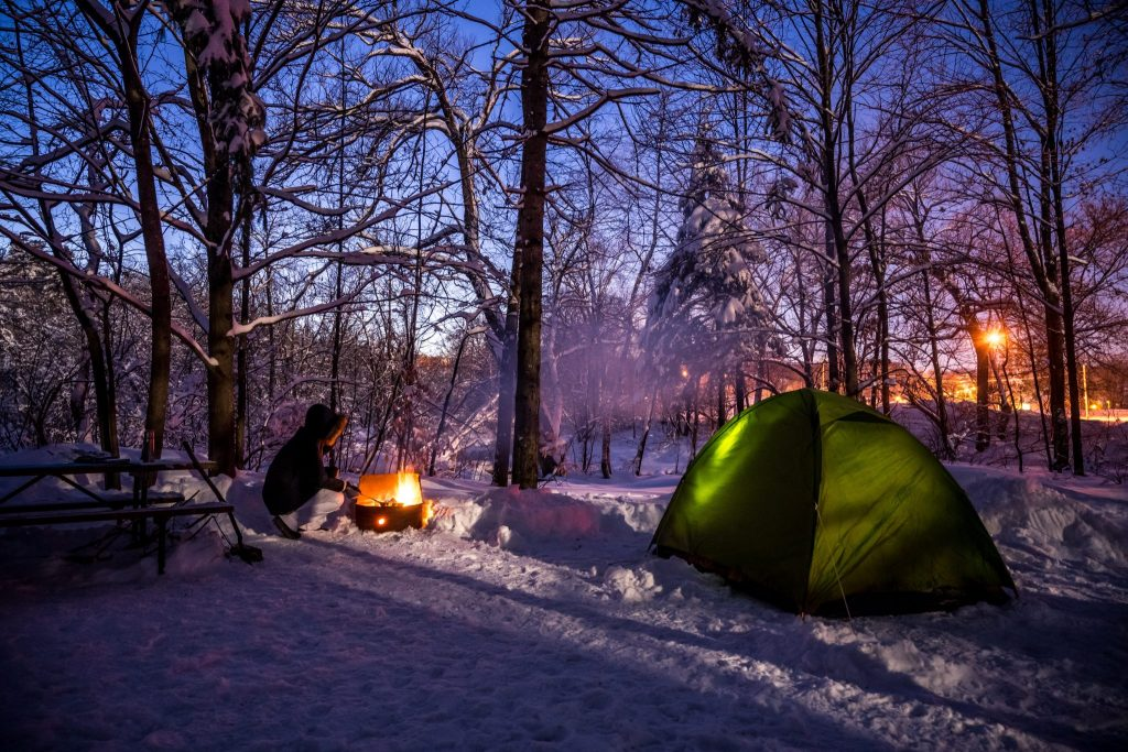 nuit camping