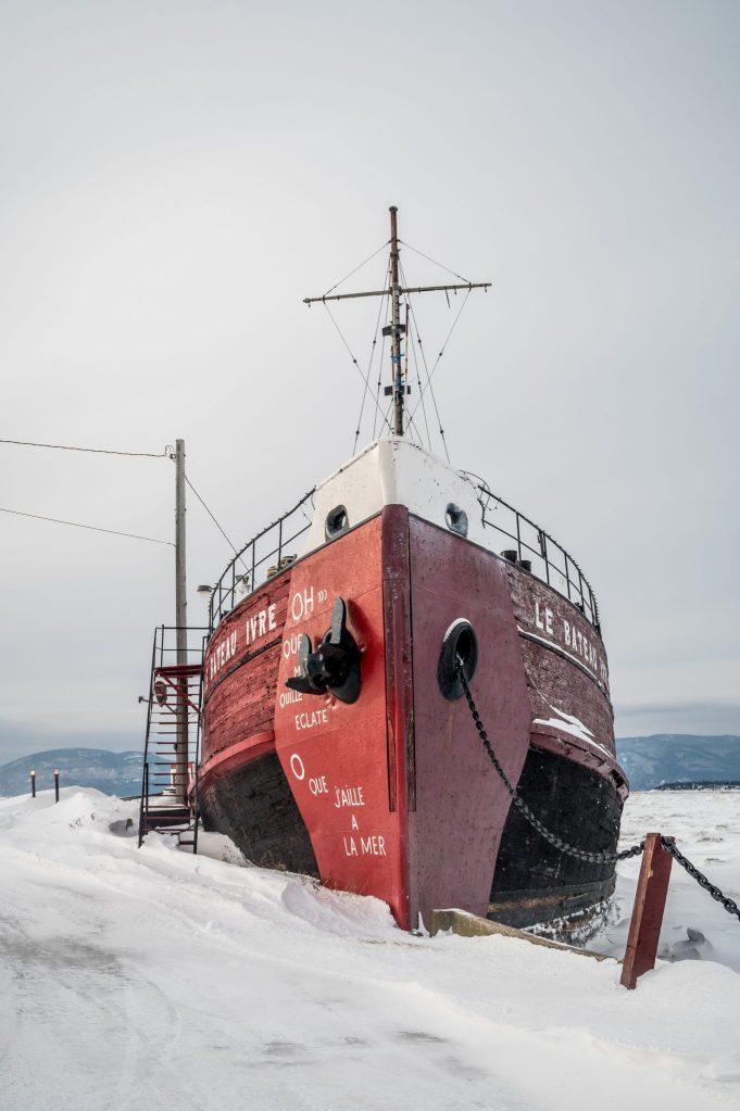 bateau isle aux grues