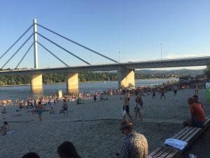 gradska plaža štrand novi sad