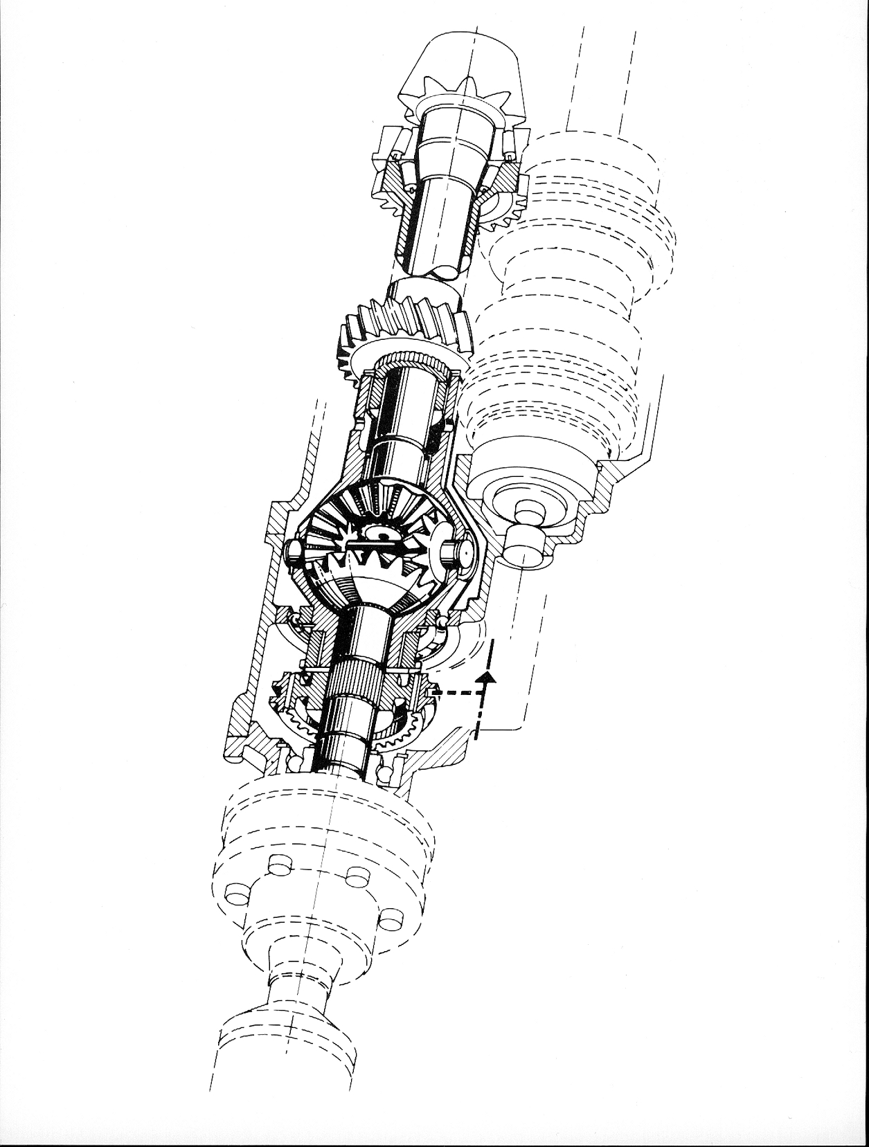 Audi Sport Quattro Diferencial Central Con Bloqueo