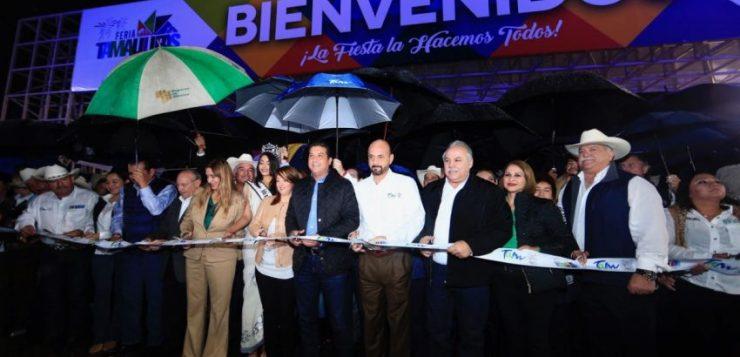 CON ARRANQUE DE LA FERIA TAMAULIPAS INICIAN 10 DÍAS DE GRAN CONVIVENCIA FAMILIAR