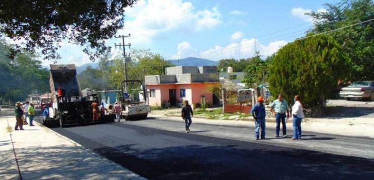 CONCLUYEN PAVIMENTACIÓN DE LA CALLE MELCHOR OCAMPO.