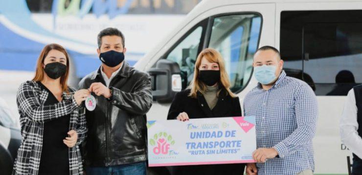 EL GOBIERNO DE TAMAULIPAS CONTINÚA TRABAJANDO PARA MEJORAR LA CALIDAD DE VIDA DE LAS PERSONAS DISCAPACITADAS.