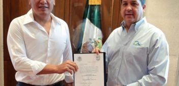 ENTREGA GOBERNADOR CABEZA DE VACA NUEVOS NOMBRAMIENTOS EN BIENESTAR SOCIAL, FINANZAS Y ADMINISTRACIÓN
