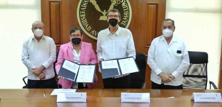 Firman colaboración la UAT y el consejo empresarial del sur de Tamaulipas