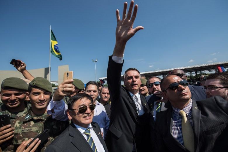 BRAZIL-ELECTION-CAMPAIGN-BOLSONARO