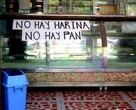 no hay pan