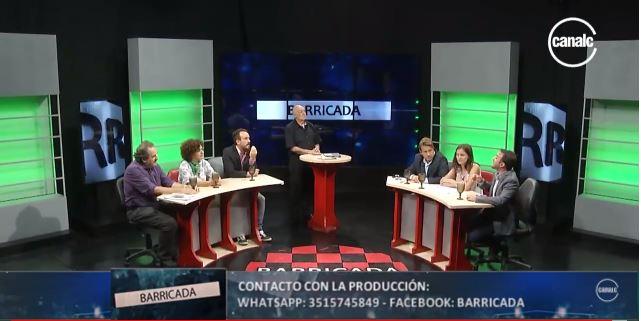 Violento debate de Márquez y Laje Vs 4 agentes de la subversión