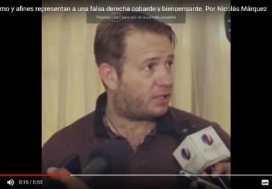 """""""El macrismo es una falsa derecha"""" Nicolás Márquez (conferencia de prensa en LATAM)"""