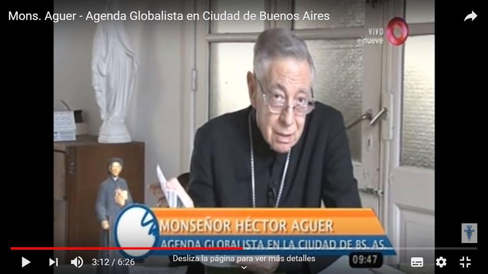 Agenda Globalista en Ciudad de Buenos Aires. Por Mons. Aguer