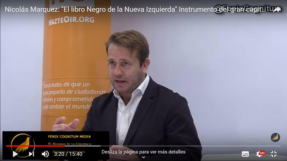 """""""Así como la izquierda usó al obrero ahora usa al homosexual"""" (Nicolás Márquez en España)"""