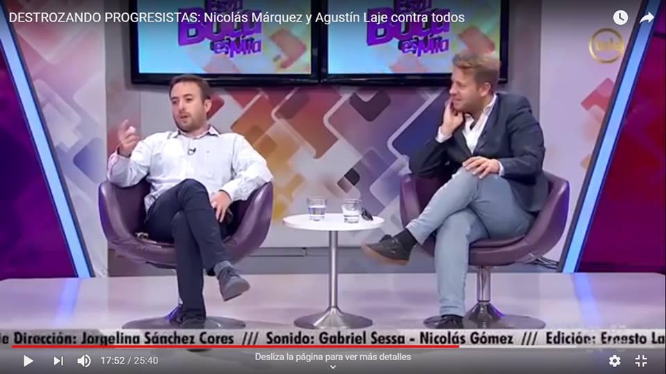 DESTROZANDO PROGRESISTAS: Nicolás Márquez y Agustín Laje contra todos