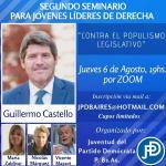 Seminario de Derecha: conferencia de Guillermo Castello