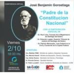 Se llevará a cabo una conferencia virtual sobre Benjamín Gorostiaga