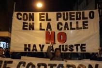 Marcha Contra el Tarifazo
