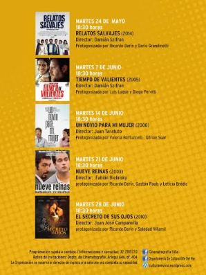 Municipio viñamarino, cine argentino
