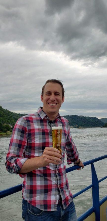 Ein Bier am Rhein!