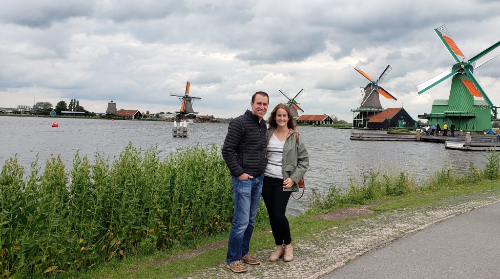 The many windmills of Zaanse Schans