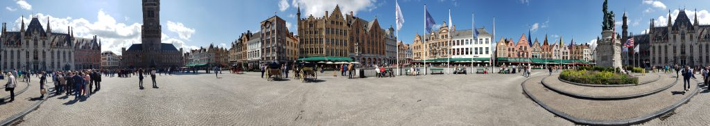 Panorama of the Markt square