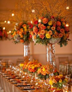 2018 wedding trends over the top centerpieces fall