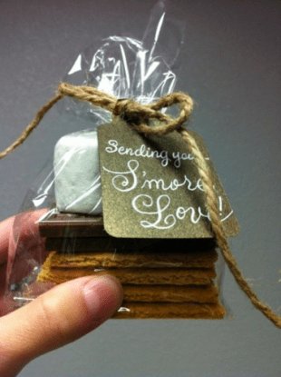 Smore Wedding Favor