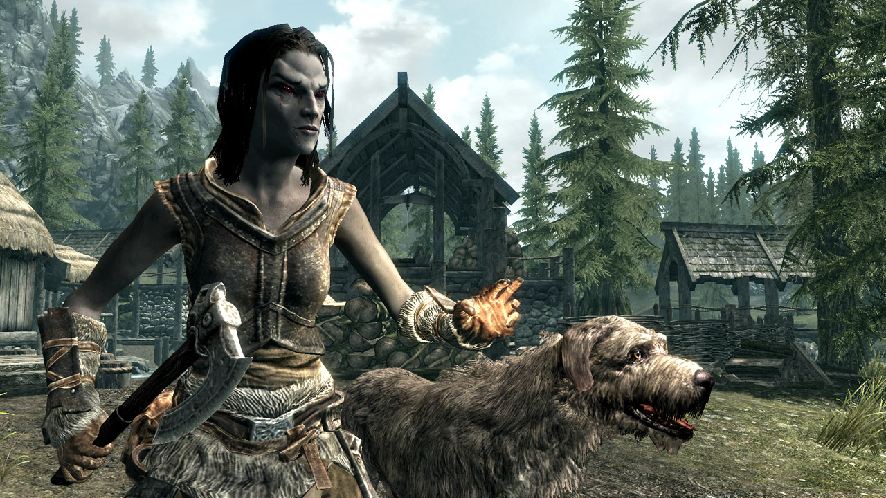 More Skyrim Character Screenshots From QuakeCon My