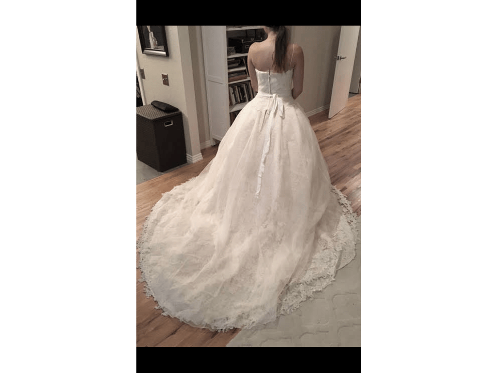 All Lace Ball Gown , $4,000 Size: 8