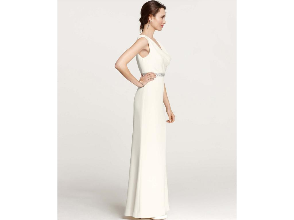 Ann Taylor MYA COWL NECK WEDDING GOWN, $299 Size: 4