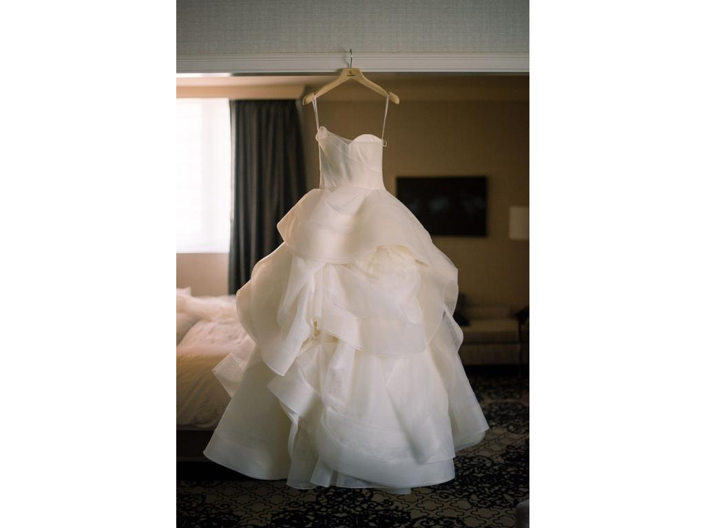 Vera Wang Katherine Ball Gown, $4,500 Size: 0