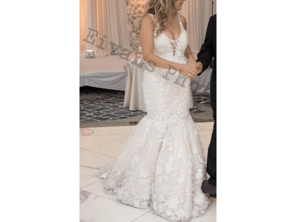 YSA Makino 2018 Trunk Show Wedding Dress With Removable