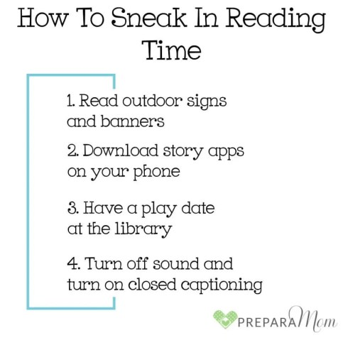 Tips to Prepare for Reading Time