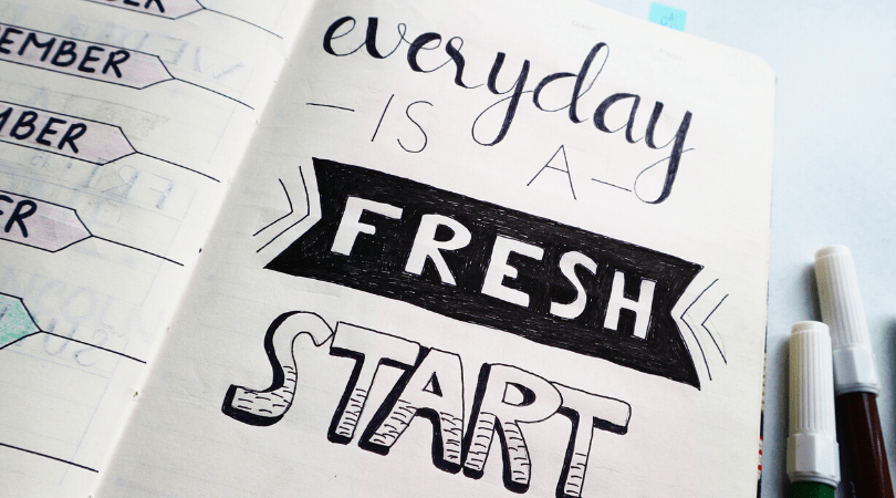 Use a daily planner to help set realistic routines.