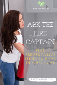 Pin image for 5 Preventative Items to Have in Your Home
