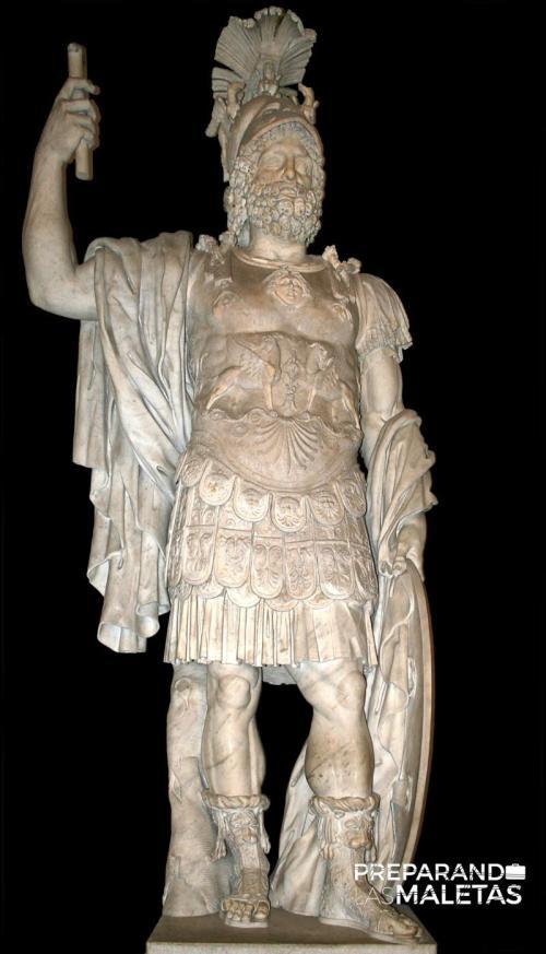 Statue colossale de Mars (Pyrrhus) - MC0058 - Vestibule du Palais des Conservateurs - Muséi Capitolini (Rome).