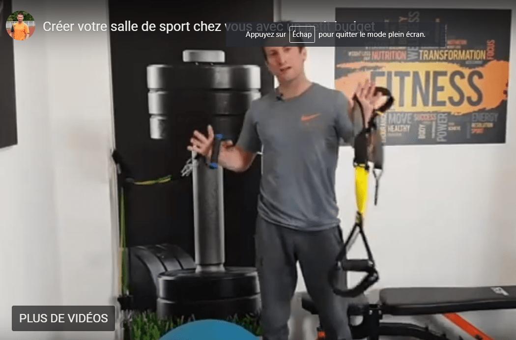 Comment faire une salle de sport chez soi, à petit budget ?