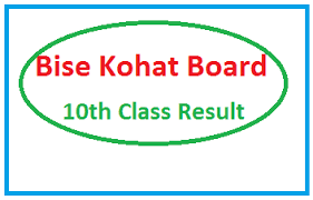 Bise Kohat Board Result 2021 of 10th & 12th class [Online] [PDF]