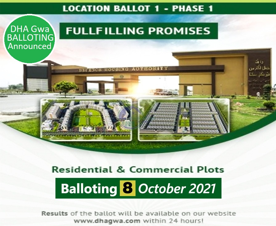 DHA Gujranwala Balloting Results 2021