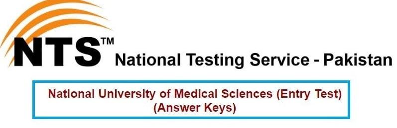 NUMS Entry Test Result 2021 [ANSWER KEY] - numspak.edu.pk result 2021