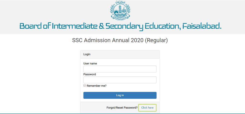 Bise FSD 12th Class Result 2021 - www.bisefsd.edu.pk Result 2021