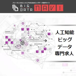 フリーランスエンジニア向け案件紹介・求人紹介エージェントのBIG DATA NAVI(ビッグデータナビ)
