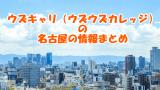 ウズキャリ(ウズウズカレッジ)名古屋で使える?|料金・場所・電話・評判