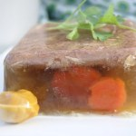 How to Make Meat Jello (Aspic) - Meat jello or Aspic, as is formally called, is rich in amino acids and nutrients. It's naturally a great source of collagen and helps support bone, teeth and joint health. It's served as an appetizer with dijon mustard and rye bread.