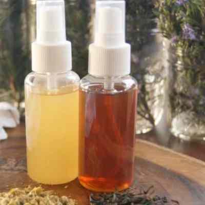 DIY Nourishing Hairspray